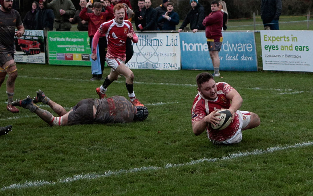 Barnstaple Chiefs v Okehampton Match Report
